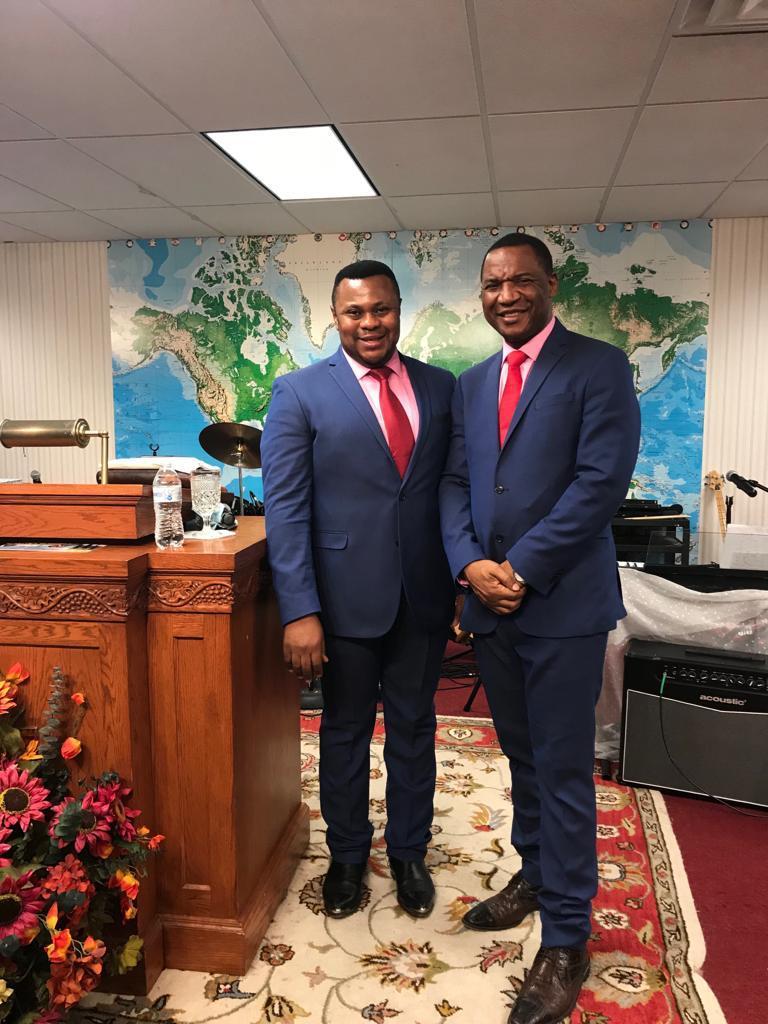 Bishop Fondong and Bishop Nwaka-West Minister USA