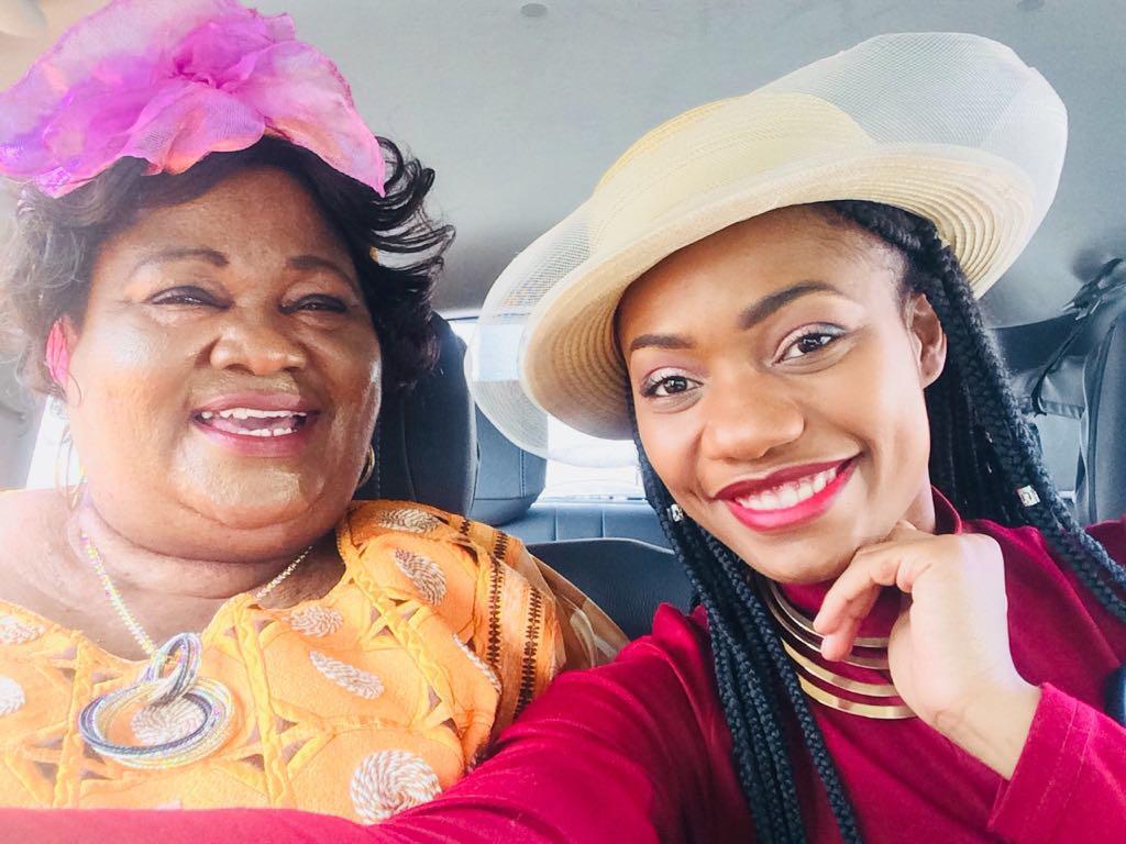 Mrs Joyce Luki Nwaka with Dr Tarisai Nwaka