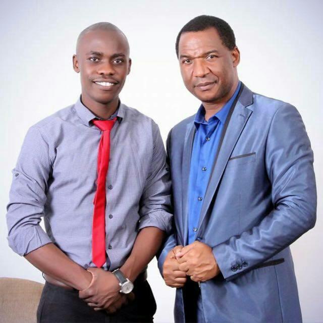 Dr Nwaka with Son in Law Dr Masiku Phiri