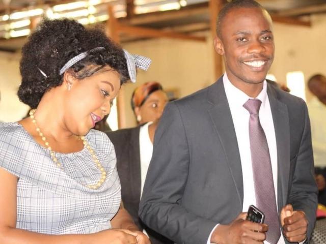 Pastor Dr Masiku Phiri with Shekina Nwaka Phiri