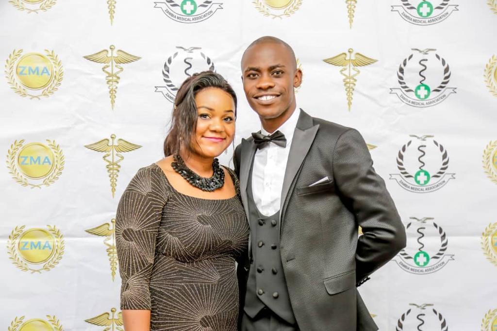 Dr Phiri son in law with his wife Mrs Shekina Nwaka Phiri