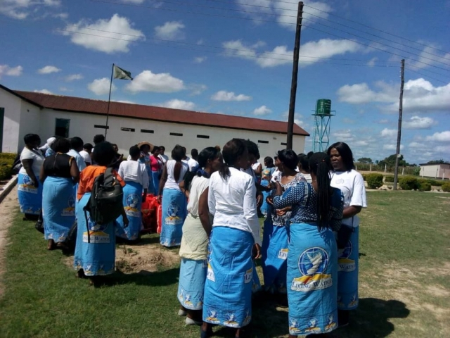 Women from Living Water ministering at the Female Prison